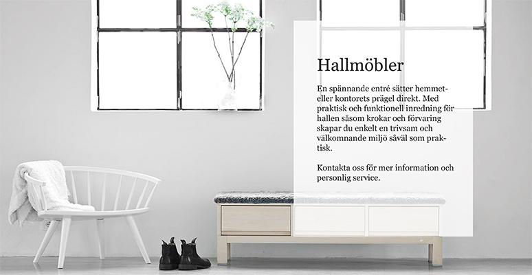Hallmöbler med design Köp hos Vision of Home Design med Fri Frakt!