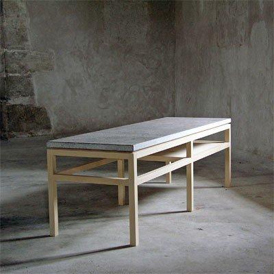 Bläse soffbord rektangulär björk