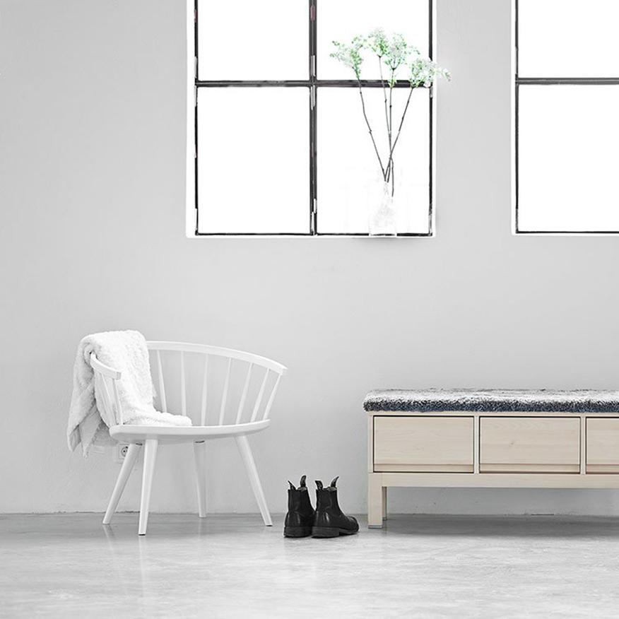 Stolab Arka stol björk Yngve Ekström Köp hos Vision of Home se Design med Fri F