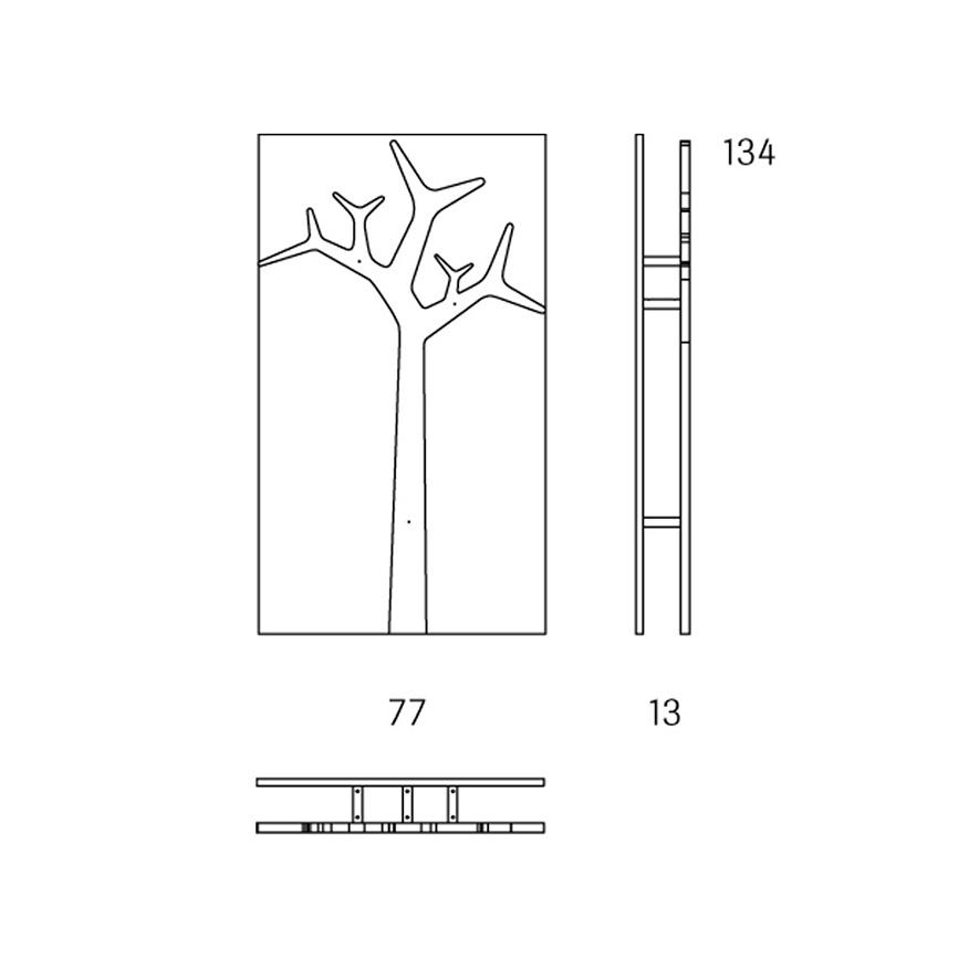 Tree vägg klädhängare låg Swedese Köp hos Vision of Home se Design med Fri Frakt!