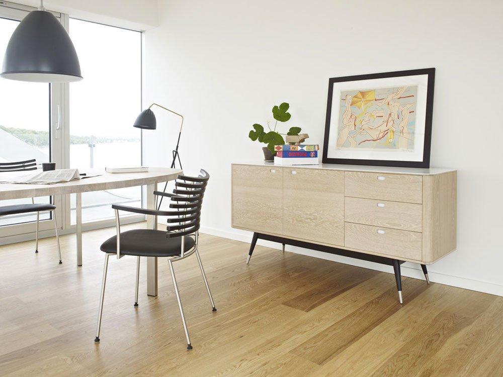 naver ak 2660 sideboard k p hos vision of fri frakt. Black Bedroom Furniture Sets. Home Design Ideas