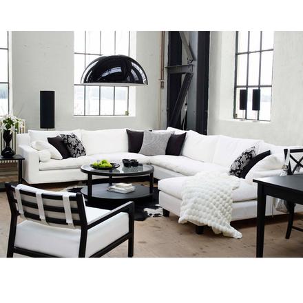 Morris 3-sits soffa