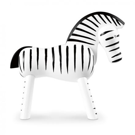 Zebra träfigur