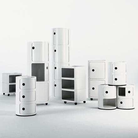 Componibili rund 3 sektioner Ø32cm