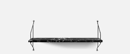 Single Morse Vägghylla