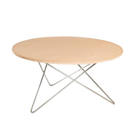 O Table Soffbord Läder