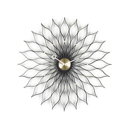 Sunflower väggklocka