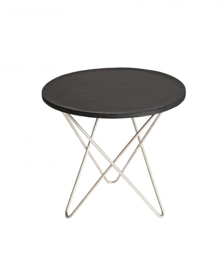 Mini O Table Läder