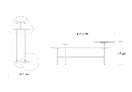 Palette Table JH7 Soffbord