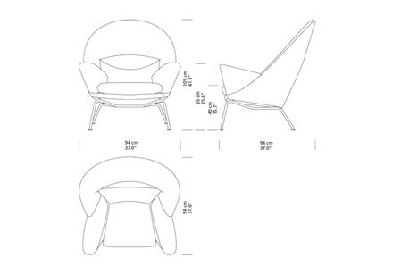 CH468 Oculus Fåtölj