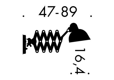 Kaiser Idell 6718 Saxlampa