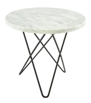 Mini O Table Marmor