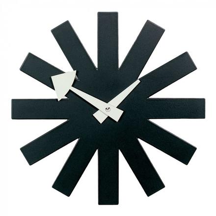 Asterisk Clock Väggklocka