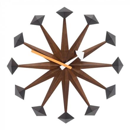 Polygon Clock Väggklocka