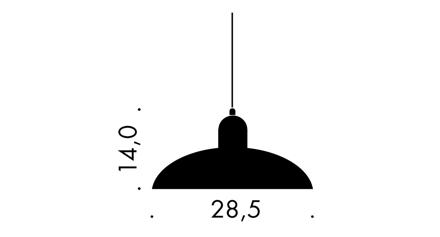 Kaiser Idell 6631-P taklampa