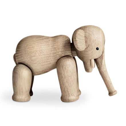 Elefant träfigur