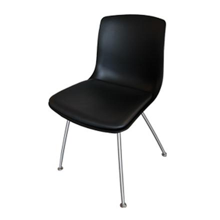 GM 315 Tulip stol med stålstativ