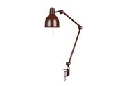 PJ65 Bordslampa Klämfäste Oxblod