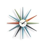 Sunburst Clock väggklocka