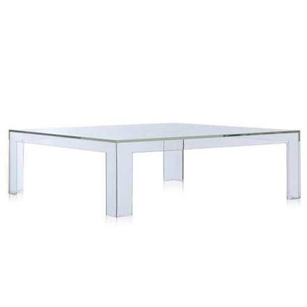 Invisible coffee table 100x100cm