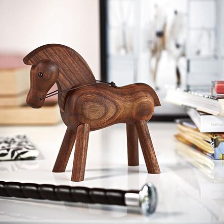 Häst träfigur