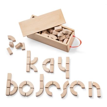 Alfabetsklossar Leksak