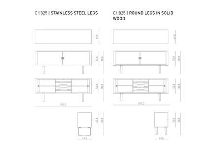 CH825 Sideboard