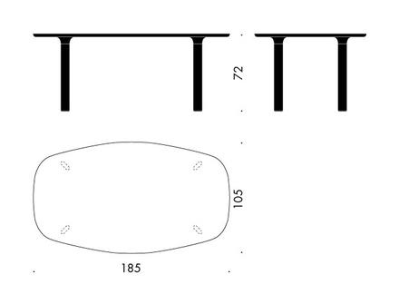 Analog JH83 matbord