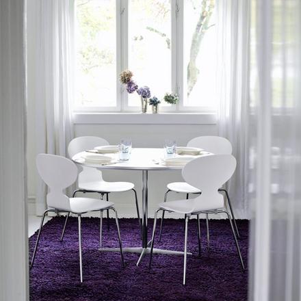 Myran 3101 stol fyra ben färgad ask